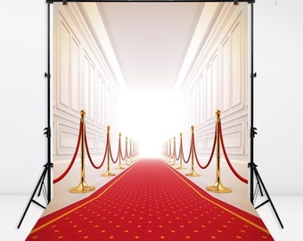 Wedding Backdrop Red Carpet Birthday Party Invitation Indoor Banner Bridal Shower Decorations Photography Background Photo Booth,CM-5973