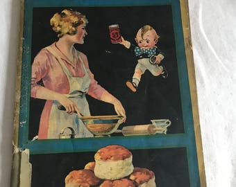 Vintage Cookbook Reliable Recipes 19th Edition Recipe Book Vintage Book Calumet Baking Powder Recipes 80 page Old Cookbook Old Recipes
