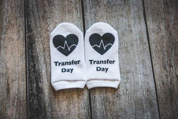 Transfer Day Socks, IVF Socks, Infertility