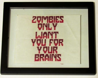 Zombies Desire Brains