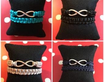 Satin Cord Bracelet - Infinite Set