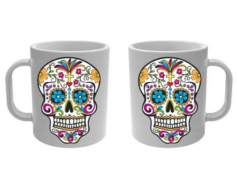 Mug Cup skull Mexican
