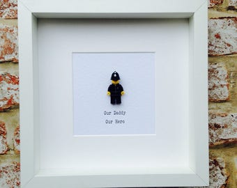 Personalised ANY Minifigure Frame