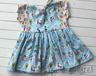 Back to school dress, First day of school dress, Watch me ABC dress, Girls school dress, Preschool Dress, Picture day outfit, school outfit