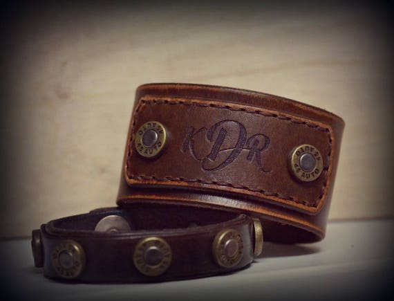 Personalized Leather Bracelet,  Women's Leather Bracelet,  Mens Leather  Bracelet,  Leather Cuff Bracelet