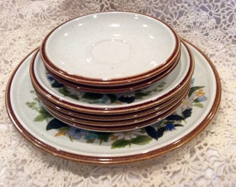 mikasa stoneware dinnerware mixed pieces