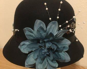 Steampunk Hummingbird Hat