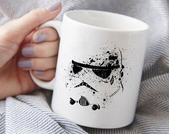 Stormtrooper Mug, Star Wars gift, coffee mug, tea mug, gifts under 25,