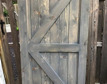 Barn Door British Brace Style