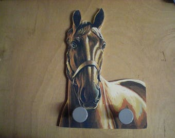 HORSE RIDING WALL RACK