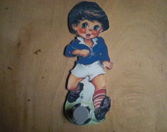 RACK NURSERY CHILDREN KID BOY FOOTBALL