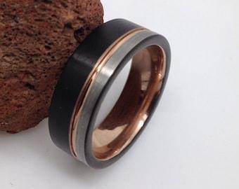 Men's Tungsten Wedding Band.Tungsten Wedding Ring ,Tungsten Carbide Wedding Band,Tungsten Ring ,Wedding Ring