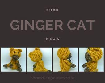Cute Amigurumi Ginger Cat