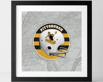 Vintage NFL: Pittsburgh Steelers-inspired