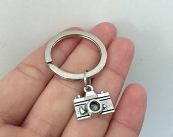Camera keychain, Camera gifts key ring