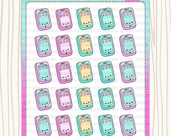 A8 Cellphone Stickers