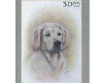 Book sheet of 46 designs 3D animals