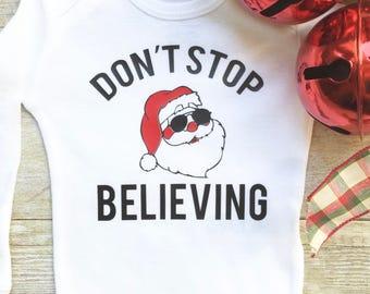 Unisex Baby Onesie, Christmas Baby Onesie, Funny Baby Onesie, Baby Clothes, Santa Onesie, Newborn Onesie, Infant Christmas Clothes