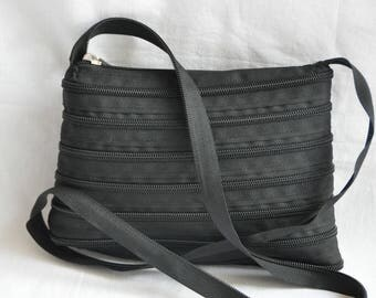 Bag Black 21 cm x 16 cm, handle-115 cm