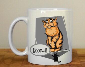 Cat Booo!!! Mug
