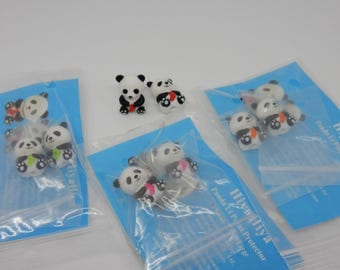HiyaHiya Li Panda Point Protectors Small and Large available in Pink, Red, Blue, Aqua, Purple, Orange, Green