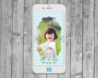 Baby Elephant Snapchat Geofilter