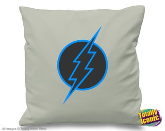 Savitar - Future Flash Retro Pillow Cushion Cover- Inspired by the  TV series - Barry Allen,savitar future flash, star labs,