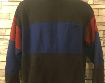 80s Tri Color Crew