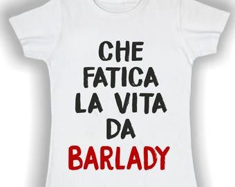 T shirts women that fatigue life as barlady