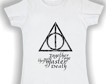 T shirt female harry potter and the Deathly Hallows