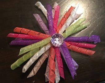 Sparkle Organza Korker Bow