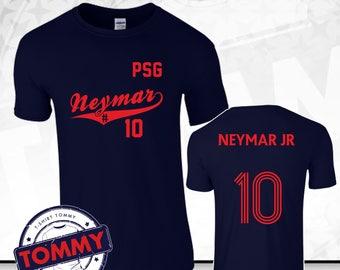 Neymar #10 T-Shirt PSG Fan Shirt