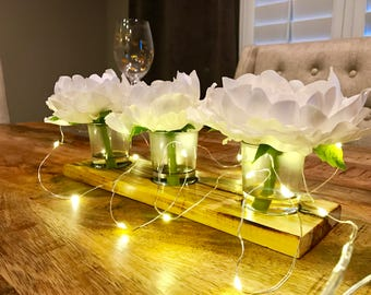 Pack of 2 2M 20 LED String Lights on Silver Wire