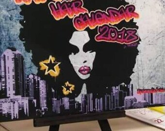 2018 Natural Hair Desk Calendar