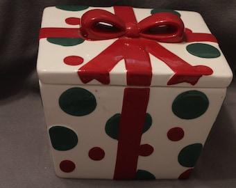 Home Decor- Christmas Cookie Jar