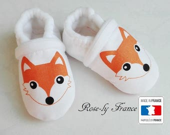 Baby booties (baby shoes) little Fox