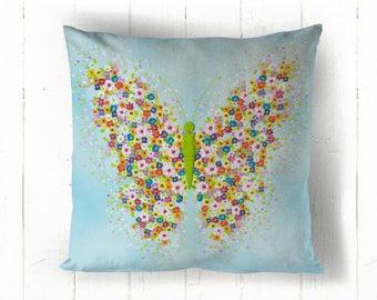 Flutterly Cotton Cushion