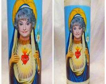 Saint Dorothy Golden Girls prayer candle