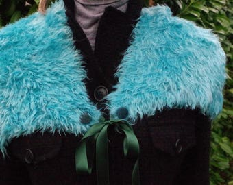 Turquoise Shoulder Warmer