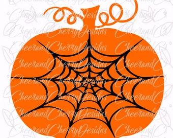 Halloween svg monogram Pumpkin SVG for Halloween svg files for cricut Spider web Svg Halloween cut file Halloween Pumpkin SVG for Silhouette