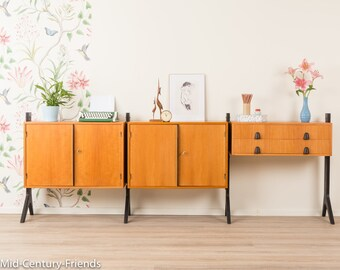 50s sideboard, Secretary, vintage, 60s (705006)