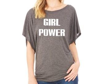 Girl power shirt | Etsy
