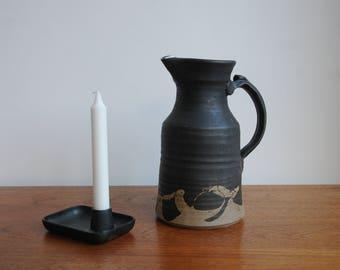 Stoneware jug vase