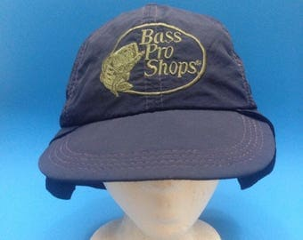 Vintage Bass Pro Shops Outdoors Fishing Hat 1990s 80s