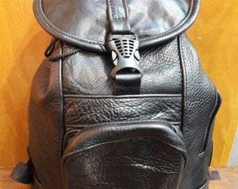 Genuine leather backpacks
