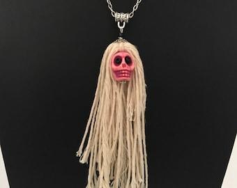 Skulls Halloween necklace pendants,  Halloween necklace pendants of your choice,