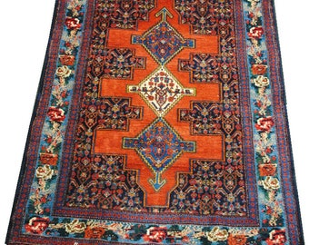 Persian rug authentic original Senneh size 153cmx110cm.