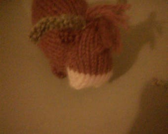 Highland cow - knitted