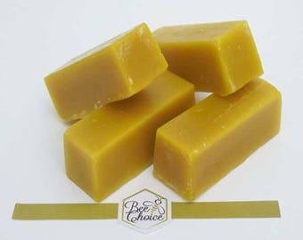 Beeswax block - 100% pure and natural beeswax 100gr(3.50oz)