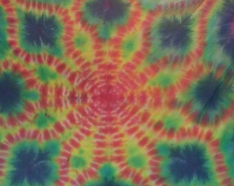 Handmade tie dye tapestry